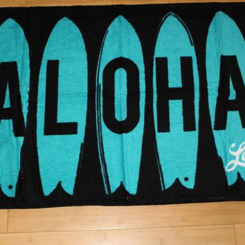 "Local Motion ""Aloha Boards"" Beach Towel"