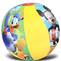 "Mickey Mouse Clubhouse Mickey Mouse/Donald Duck 20"" Beach Ball-New in Pkge!"