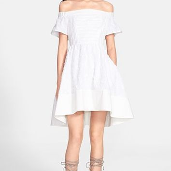 Women's Tibi 'Sakura' Off the Shoulder Fil Coupe Dress,