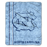 """UNC College """"""""Jersey"""""""" 50x60 Sherpa Throw"""