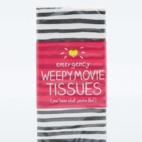 Wild & Wolf Weepy Movie Tissues - Urban Outfitters