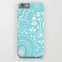 Paisley Blue iPhone & iPod Case by ALLY COXON | Society6
