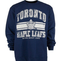 Toronto Maple Leafs NHL Retro Fleece Crew