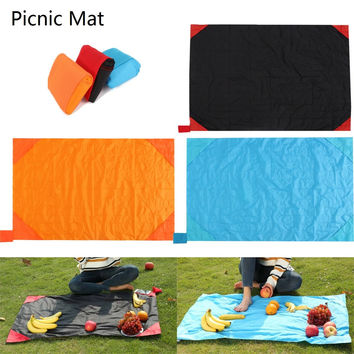 27x43 Inches Waterproof Portable Foldable Picnic Camping Carpet Pocket Blanket Beach Mat