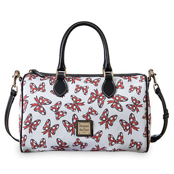 Minnie Mouse Bow Satchel Bag by Dooney & Bourke - White