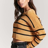 Chenille Stripe Sweater