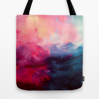 Reassurance Tote Bag by Caleb Troy