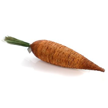 Easter Large Rustic Carrot Easter Decor