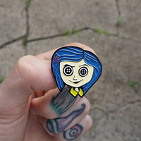 CORALINE Enamel Pin / Lapel Pin