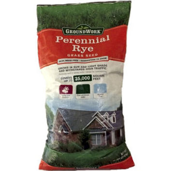 GroundWork Perennial Ryegrass Blend, 50 lb. - For Life Out Here