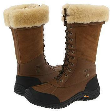 ESBON UGG 5498 Tall Women Men Fashion Casual Wool Winter Snow Boots Chestnut