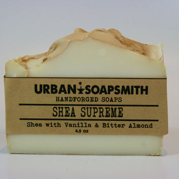 Shea Butter Supreme - Handcrafted, Cold Process Soap, Luxury Soap Bar, Moisturizing Soap Bar, Shea Butter Soap, Handmade Soap, Gentle Soap