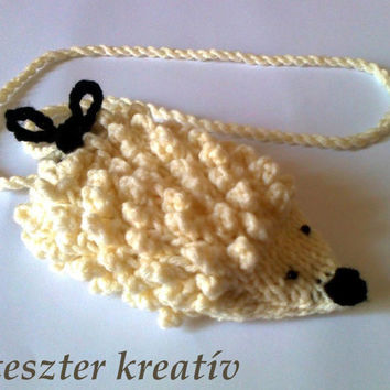 Crochet Hedgehog iPod Case, iPhone, Phone Case ,Phone Cover