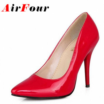 7 Colors Women Stiletto High Heel Shoes Pointed Toe Sexy Wedding Fashion Sexy Platform Pumps Heels Shoes