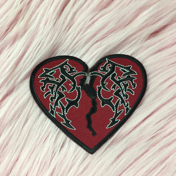TRIBAL BROKEN HEART PATCH