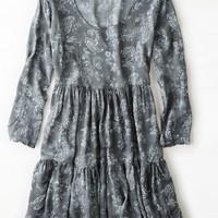 AEO Women's Don't Ask Why Printed Babydoll Dress