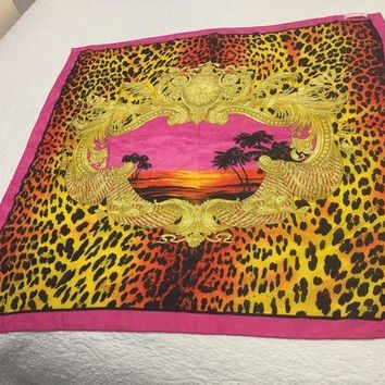 ONETOW versace scarf
