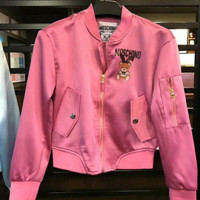 Moschino Women Fashion Cute Bomber Jackets