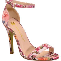 Floral Perfection Ankle Pump