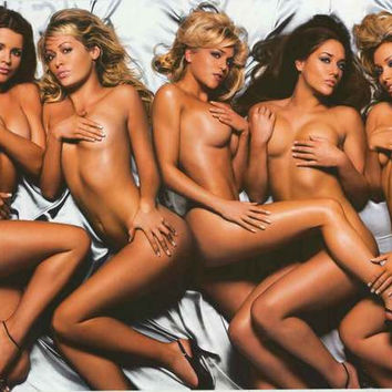 High Street Honeys FHM Girls Poster 24x36