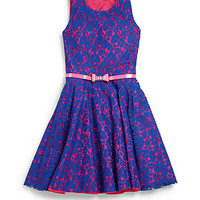 Girl's Lace Swing Dress