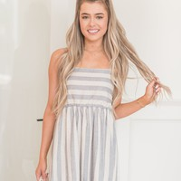 Sea Side Stripe Dress