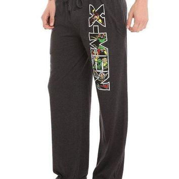ESBONIS Marvel X-Men Logo Guys Pajama Pants