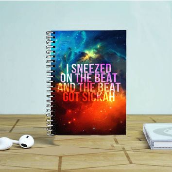 Beyonce I Sneeze Photo Notebook Auroid