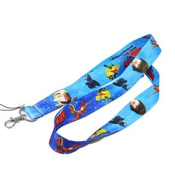 Brand New How to train your Dragon Blue Lanyard