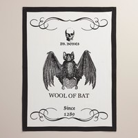 Wool of Bat Flour Sack Kitchen Towels, Set of 2