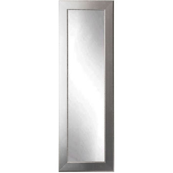 "Brandt Works Mod Euro Silver Floor Mirror BM12THIN 21.5""x71"""