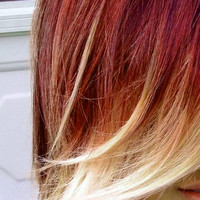 HAIR CHALK: Red Brown // Temporary Hair Color // Chalk Pastel Dye