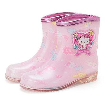 Hello Kitty kids long shoe candy 19 cm boots Sanrio