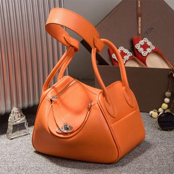 2016 Autumn Famous Designer Women Casual Tote Bags Cow Genuine Leather Handbags Shoulder Bag Solid Bigs Capacity Hobos Bags