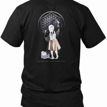 Bring Me The Horizon Band Sempiternal Girl Chalk 2 Sided Black Mens T Shirt