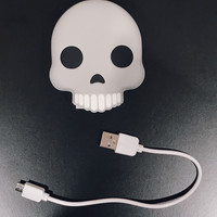 Skull USB Power Bank Portable Charger