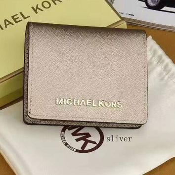 MK Fashion Women Leather Purse Wallet