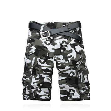Men Hot Sale Outdoors Summer Training Casual Pants Cotton Shorts [9724847619]