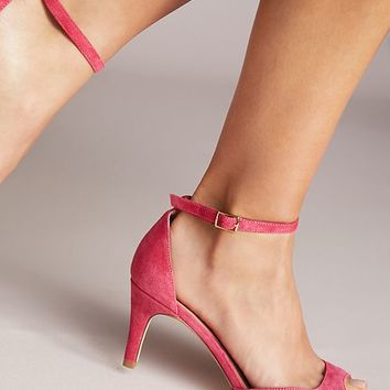 Anthropologie Peep Toe Heels