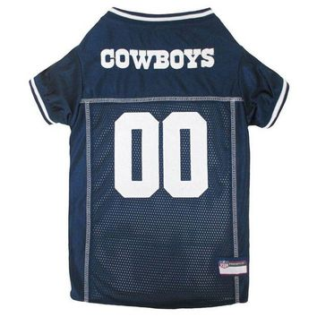 DCCKT9W Dallas Cowboys Premium Pet Jersey