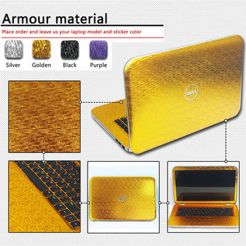 New Dust-proof Laptop Sticke Personality Skins Pure Color Protective Decal Stickers For Lenovo Y510P/Y500/Z485/Z480 Case
