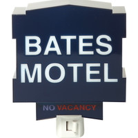 Bates Motel Neon Sign Night Light