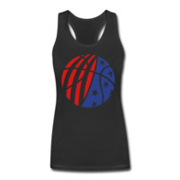 USA Basketball Women's Bamboo Performance Tank - Women's Bamboo Performance Customized Tank Tops