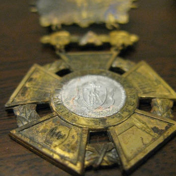 GAR Veteran Medal Boston 1904 38th Encampment by timepassagesshop
