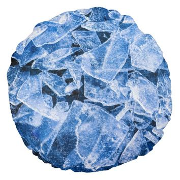 Ice Round Pillow