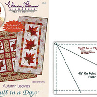 Autumn Leaves, By Eleanor burns, Signature Pattern, Quilt in a Day