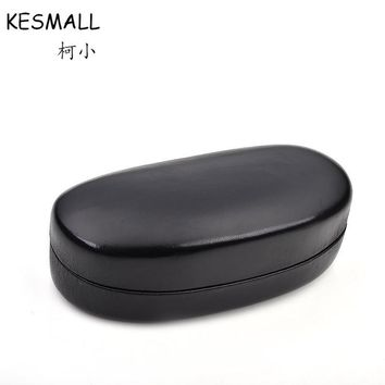 Fashion Sunglasses Box Women Men Eyeglasses Case Black Faux Leather Sun Glasses Cases Iron Shelf Female Oculos Holders YJ767