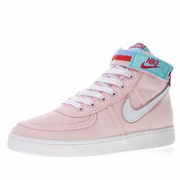 "Nike Vandal High Canvas Women Basketball Shoes ""Pink""AH5253-004"