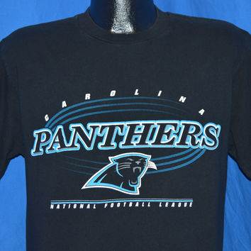 90s Carolina Panthers Logo t-shirt Medium