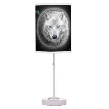 Wolf Moon Table Lamp